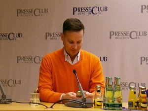 Richard Gutjahr im Münchner Presseclub