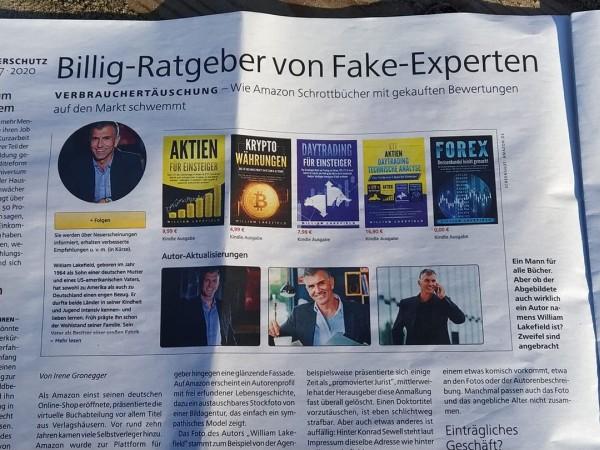 Artikel über Schrottbücher und Fake-Experten